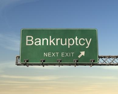 bankruptcy exit