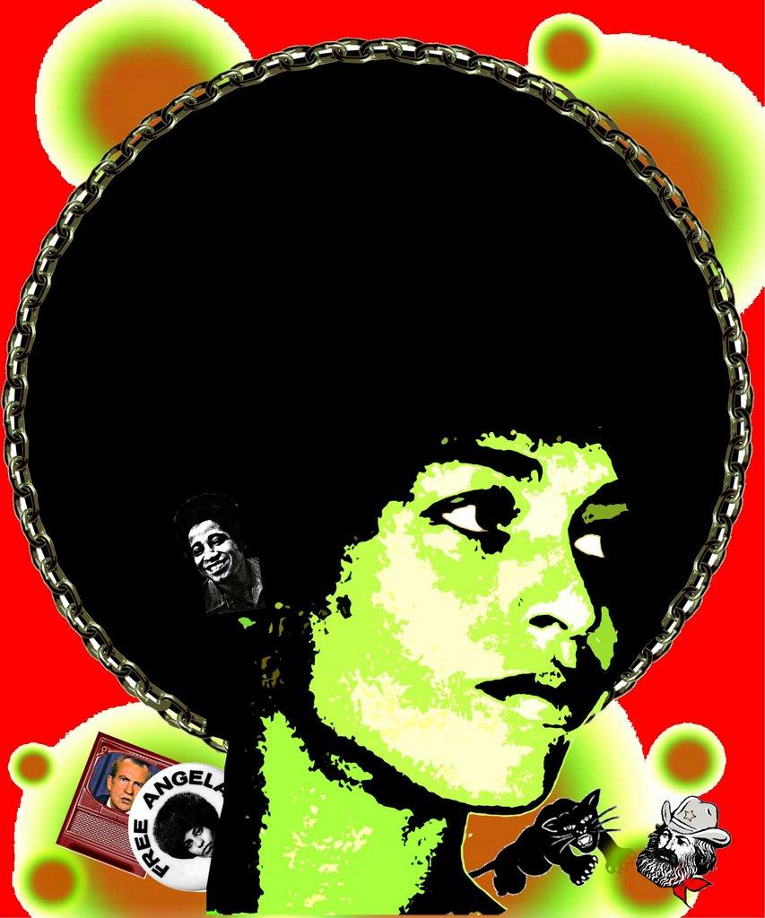 Angela Davis cover - red1