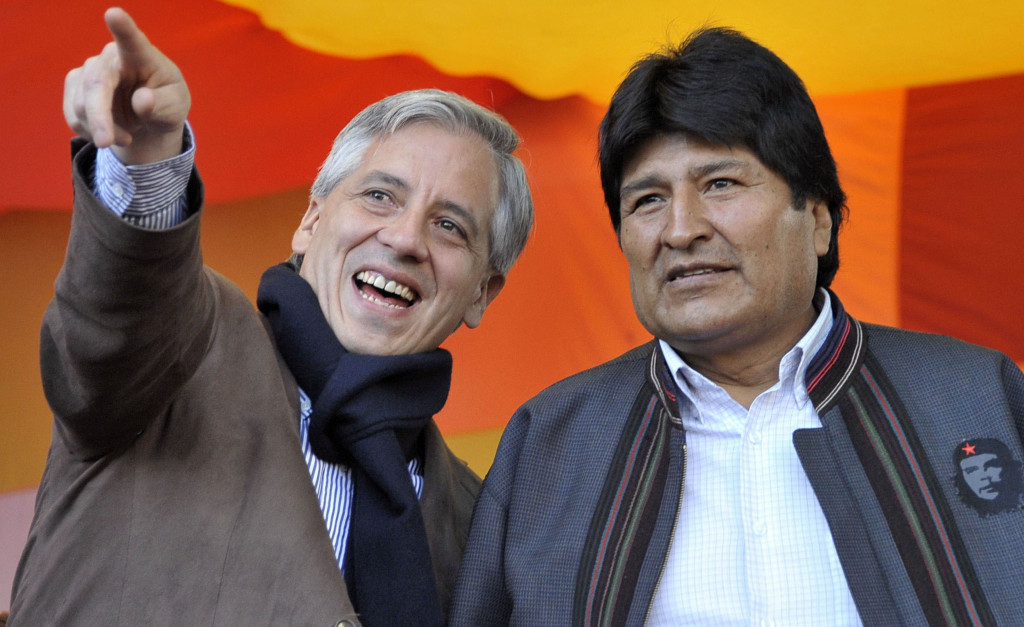 BOLIVIA-US-MAY DAY-USAID-MORALES
