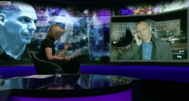Ο Βαρουφάκης και η Έμιλι του BBC